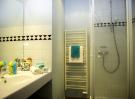 salle de bain résidence Argentière Chamonix