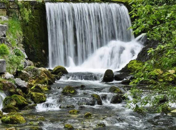 La source du Doubs.